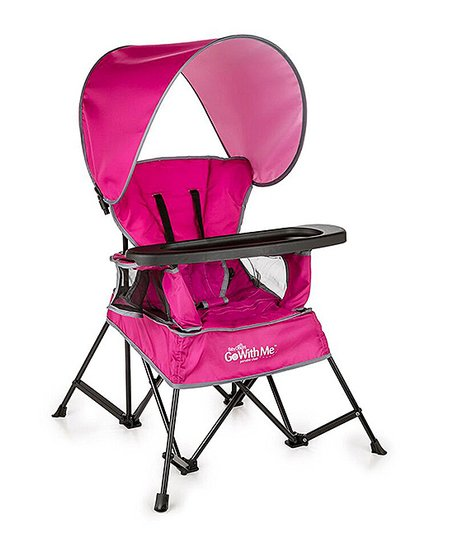 indoor outdoor chairs navy chair stool baby delight pink go with me portable zulily love this product