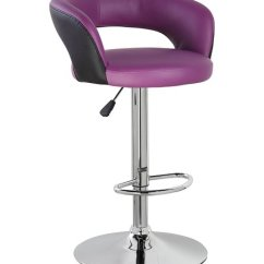 Office Chair Height Pibbs Pedicure United Adjustable Swivel Pu Leather Armless Barstool With Semi Circle Back Pub In