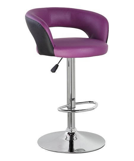 leather pub chair hanging low price united office height adjustable swivel pu armless barstool with semi circle back in