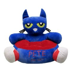 Kids Reading Chair Flexsteel Rv Captains Chairs Parts Preferred Pete The Cat Plush Zulily