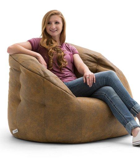 big joe bean bag chair contemporary desk chairs comfort research camel milano zulily