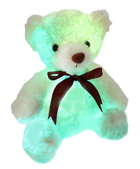 step white teddy bear