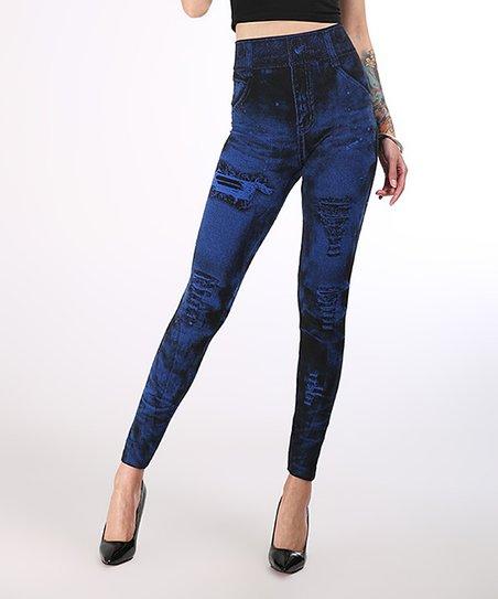 pantalon deep blue jeans