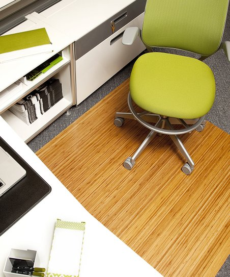 bamboo chair mat gold covers amazon anji mountain chairmat rug co natural extra large roll up office