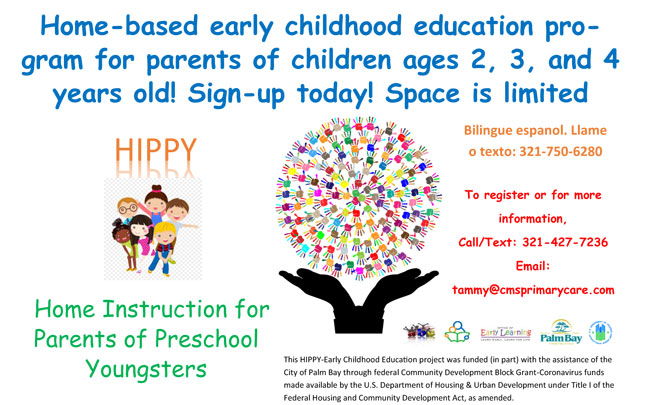 HIPPY is gearing up for it's 4th year of fun and education!