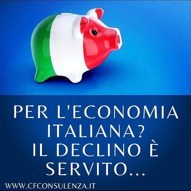 Economia italiana: il declino è servito...