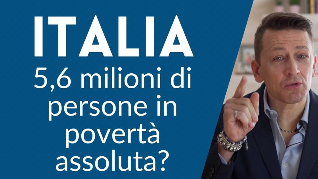 Italia, 5,6 milioni di persone in povertà assoluta. Che vuol dire esattamente?