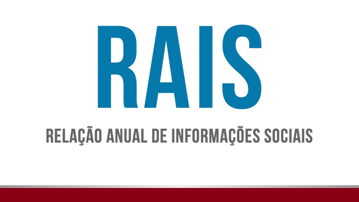 Entrega da RAIS 2016 será até dia 17 de março