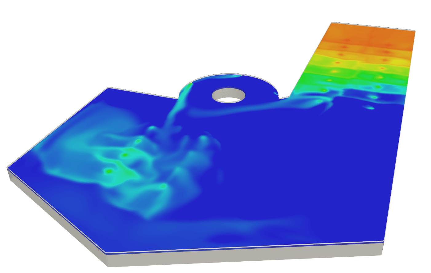 Swimmingpool temperature cfd freelancing for What temperature should a swimming pool be