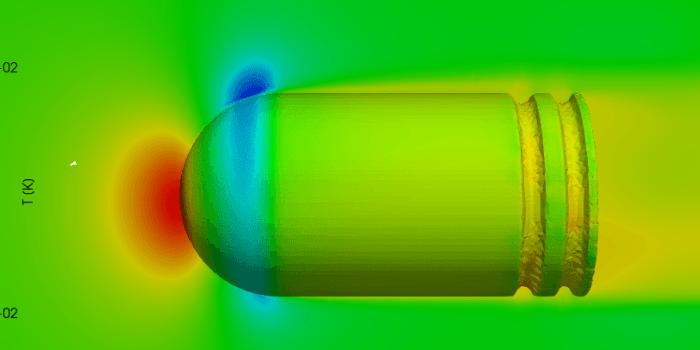 Bullet CFD sidewind