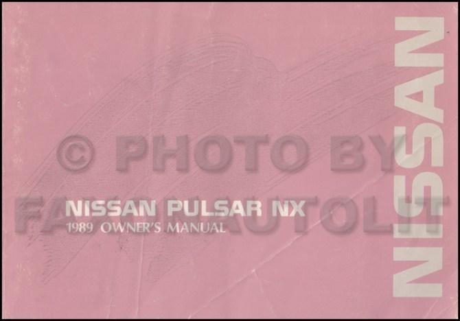 diagram 1987 nissan pulsar nx wiring diagram original full