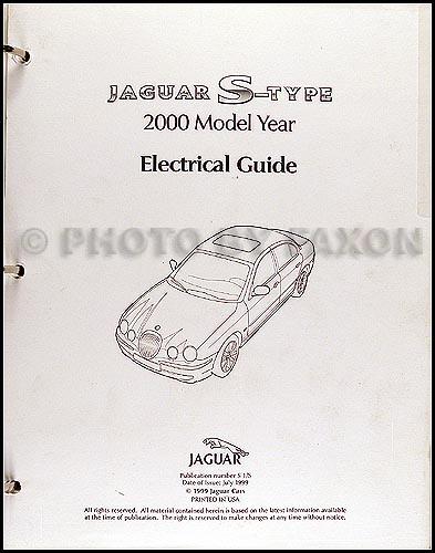 2000 jaguar stype electrical guide wiring diagram