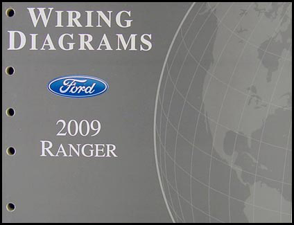 2009 ford ranger wiring diagram manual original
