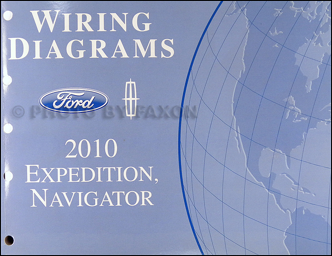 2010 expedition  navigator wiring diagram manual original