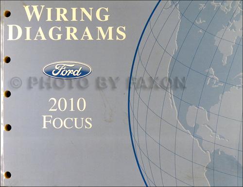 2010 ford focus wiring diagram manual original