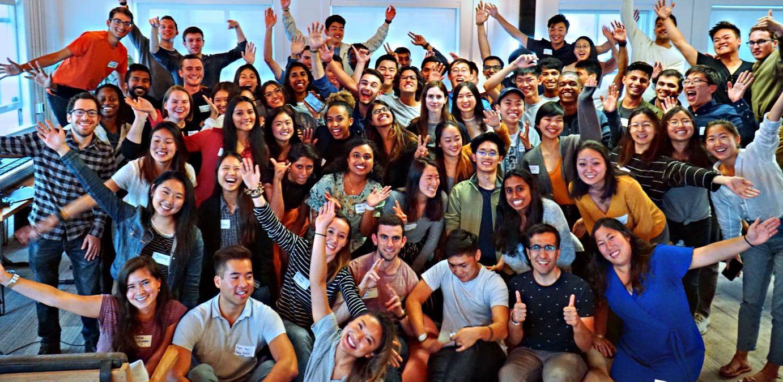 Group photo of Kleiner Perkins Interns 2019