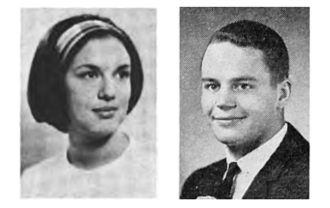 College Yearbook photos of Carol and Dixon Doll