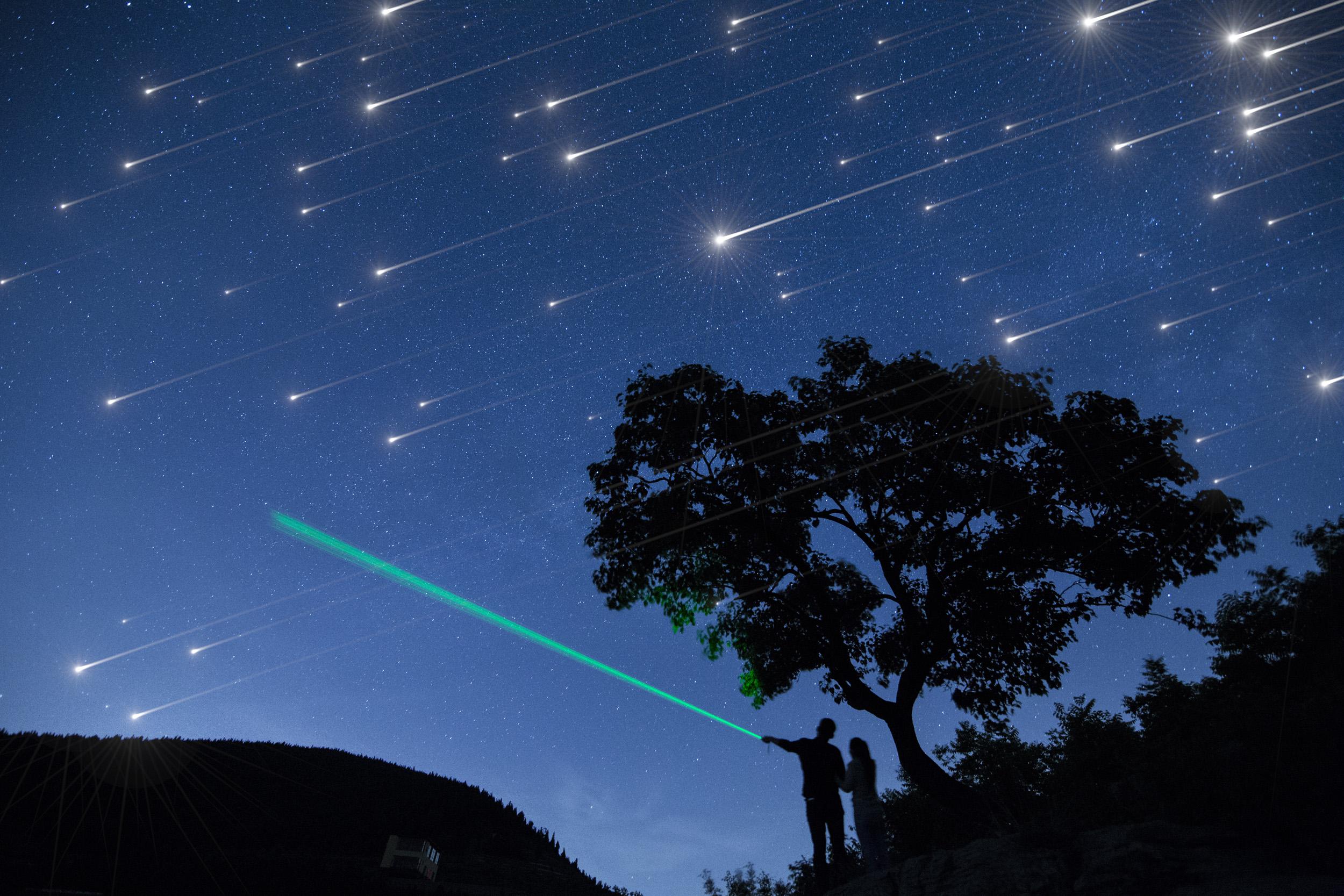 The Ursid meteor shower peaks tonight  Earthcom
