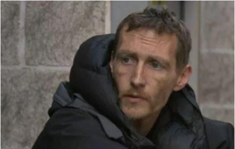 Manchester bombing Homeless Man ITV