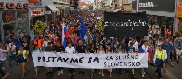 Bratislava Protest 2018 05 04