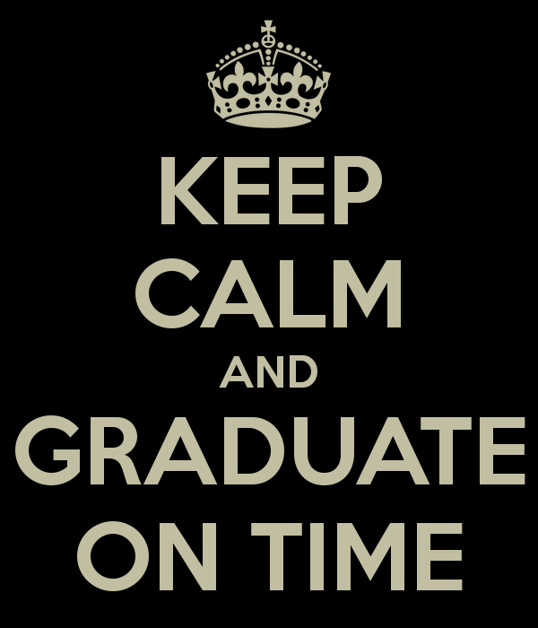 Keep Calm And Graduate 2017