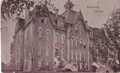Pickering College postcard