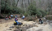 Lunch by the Chattooga River
