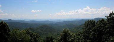 View of the Blue Ridge