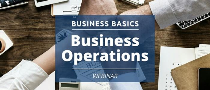 Jan. 13 at 12 pm: Business Operations
