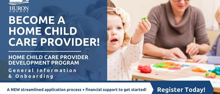 Dec. 1 at 5 pm: Home Child Care Development Program - General Information & Onboarding