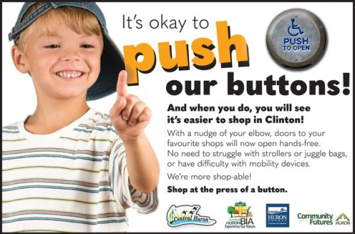 push our button graphic