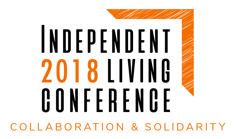 Logo of 2018 Independent Living Conference – Leading the Charge.