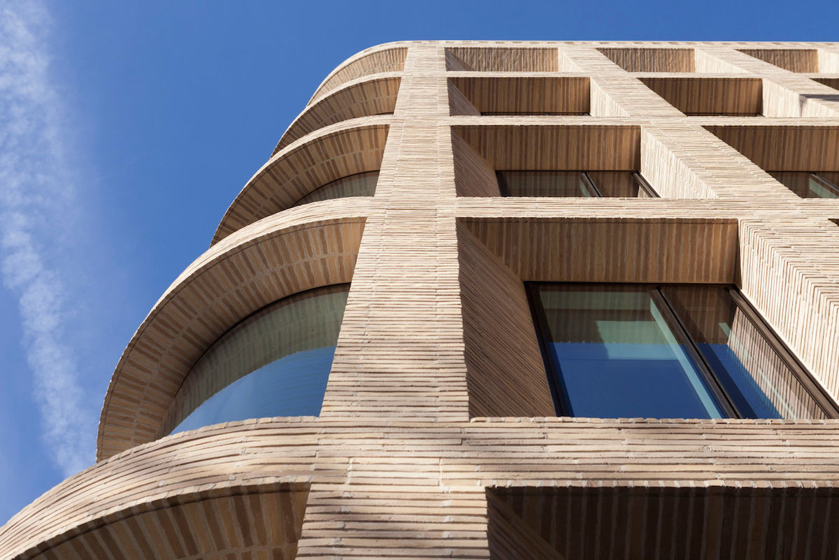 London Building Uses Brick As Cladding Rather Than Structure