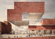 "Contemporary Brick Architecture London' ""olympicsopolis"""