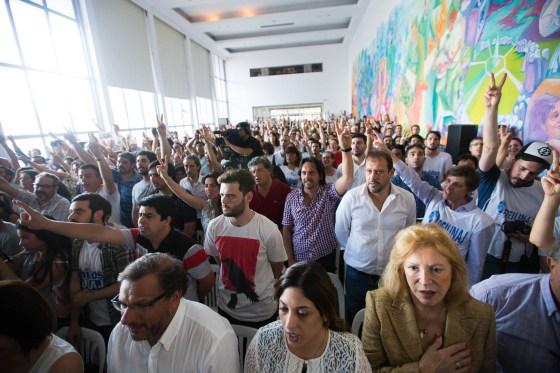 Cristina Kirchner en Florencio Varela