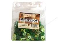 Buttons Galore Button Bonanza 1/2 lb. Rainforest