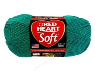 Red Heart Soft Yarn 256 yd. #9870 Deep Sea