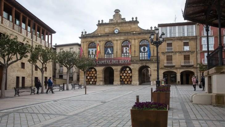 El pueblo de Haro, en La Rioja, foco central del coronavirus en España