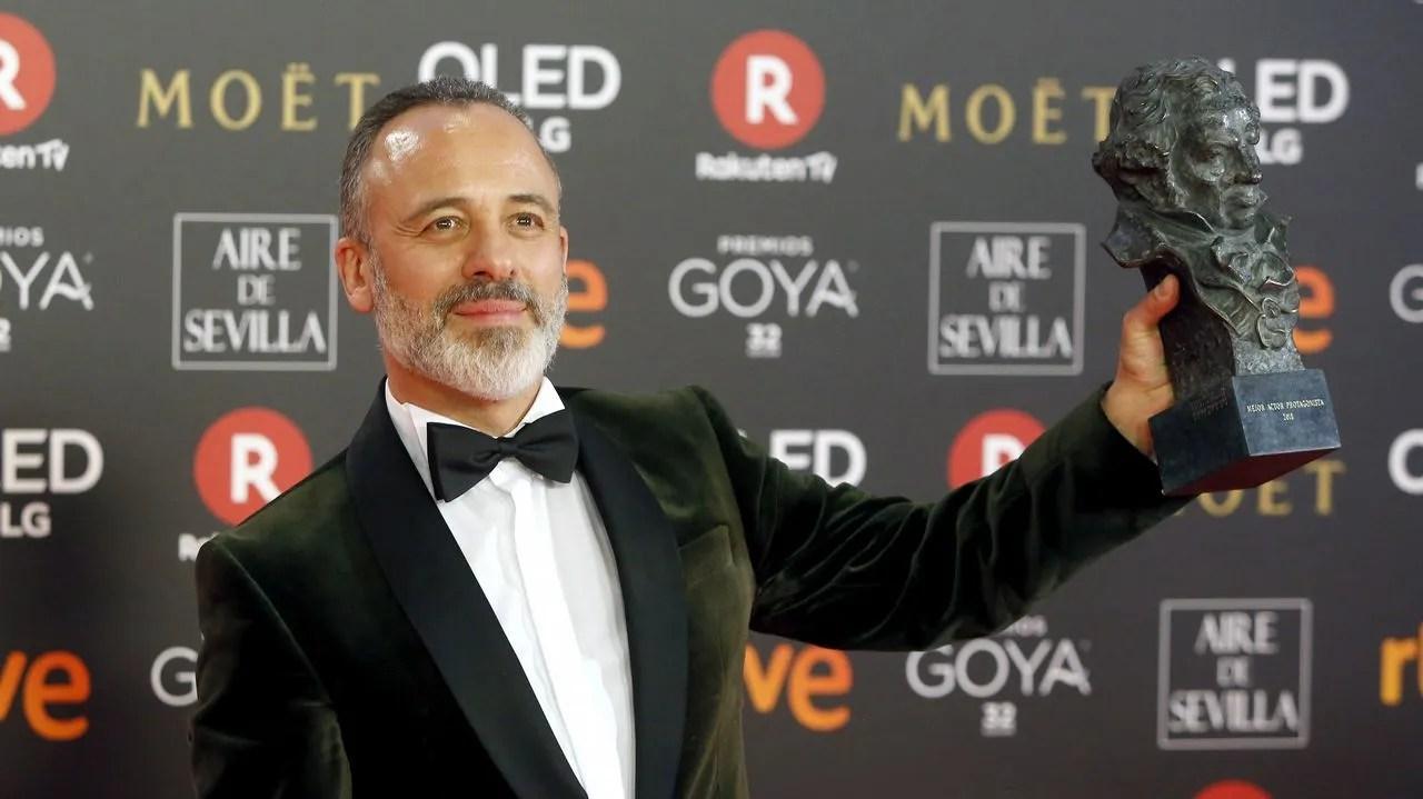 Javier Gutiérrez: «No soy mejor actor por tener dos goyas, pero dan mucha  felicidad»