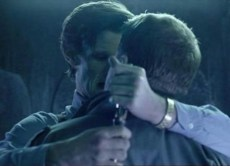 """Craig Owens (James Corden, """"The Lodger"""") and the Doctor (Matt Smith) get to close for comfort."""