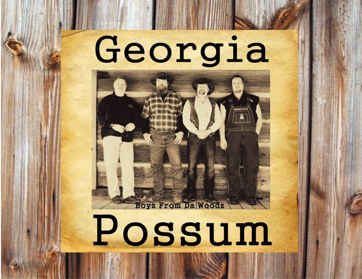Georgia Possum is Tracy Hosey (bass), Israel Tyson (drums), Ron Lands (steel guitarist/guitar) and Jack Walker (vocals/guitar). They play country/blues/rock and a tinge of bluegrass.