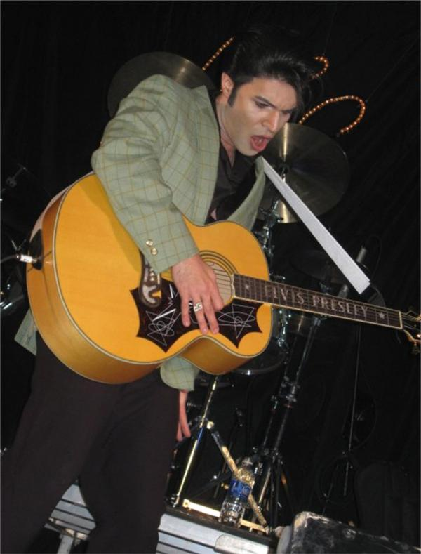 I'll Remember You Elvis Tribute Artist Competition to feature Ted Torres at The Spirit of the Suwannee Music Park