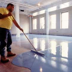 Commercial Restaurant Kitchen Mats Renovations Cost High-build, Seamless Epoxy Floor Resurfacer
