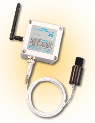 OMEGA ENGINEERING Introduces Non-Contact Infrared Temperature Sensor with Wireless Transmitter