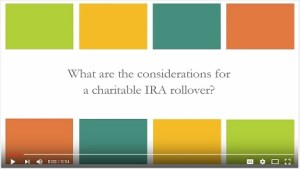 PA Video IRA Rollover