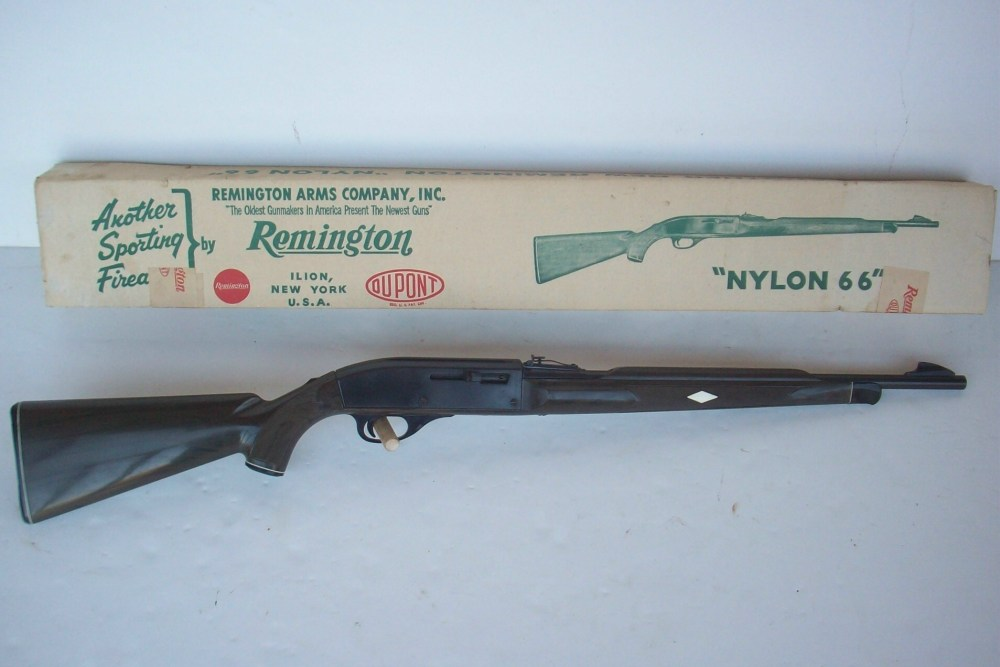medium resolution of remington nylon 66 semi auto rimfire rifles click here to see close up image of an apache black rifle