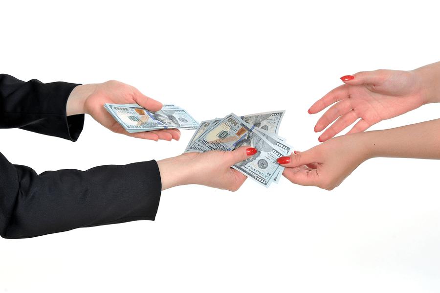 loaning customers money