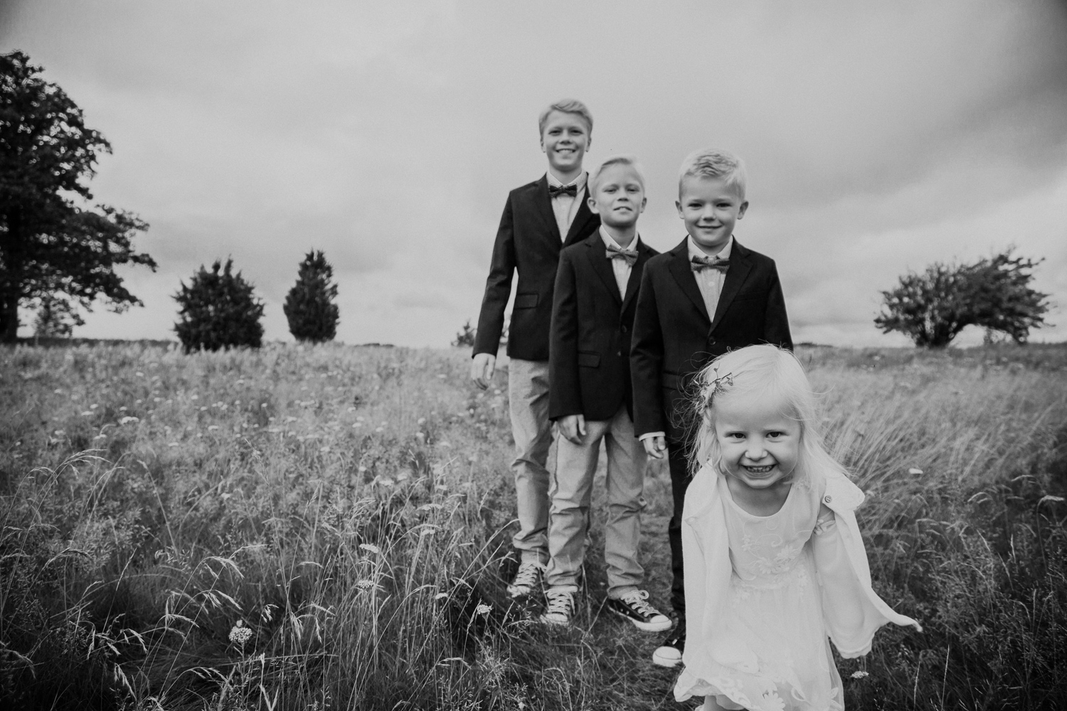 Wedding photographer Sweden portraits wedding photos