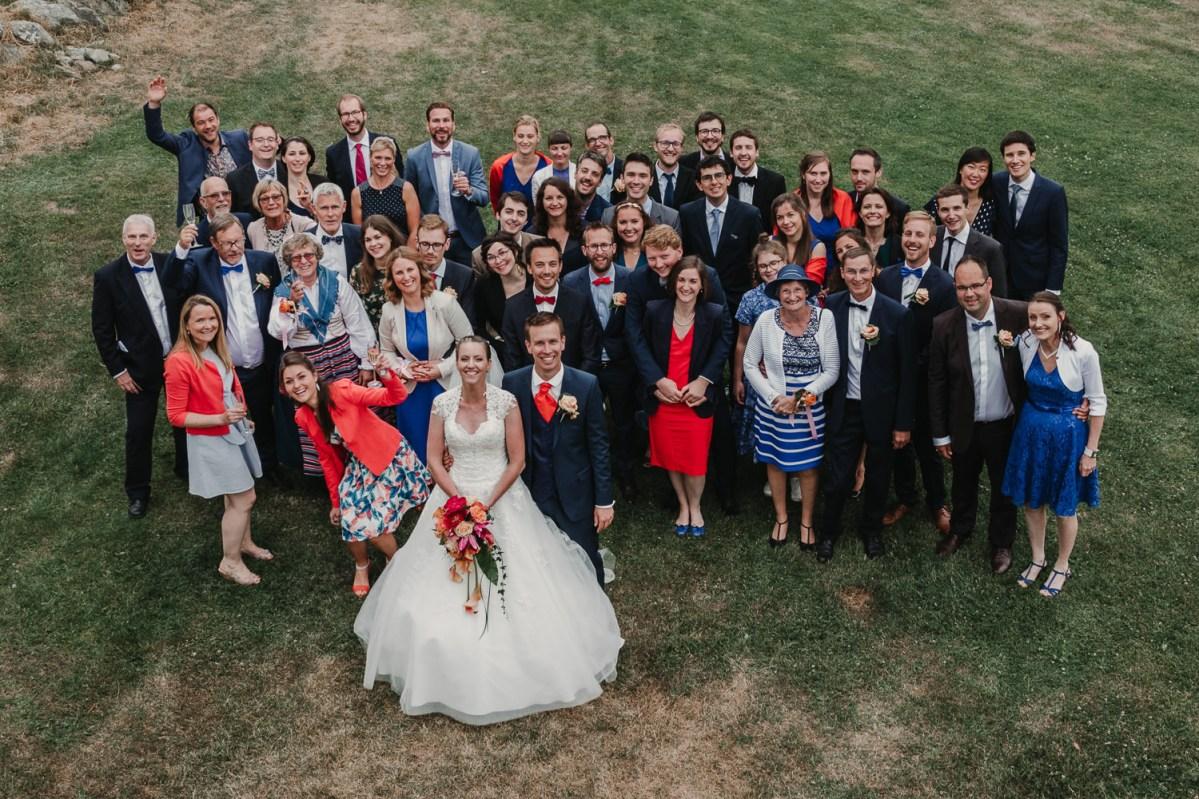 bröllopsfotograf goteborg onsala gruppfoto