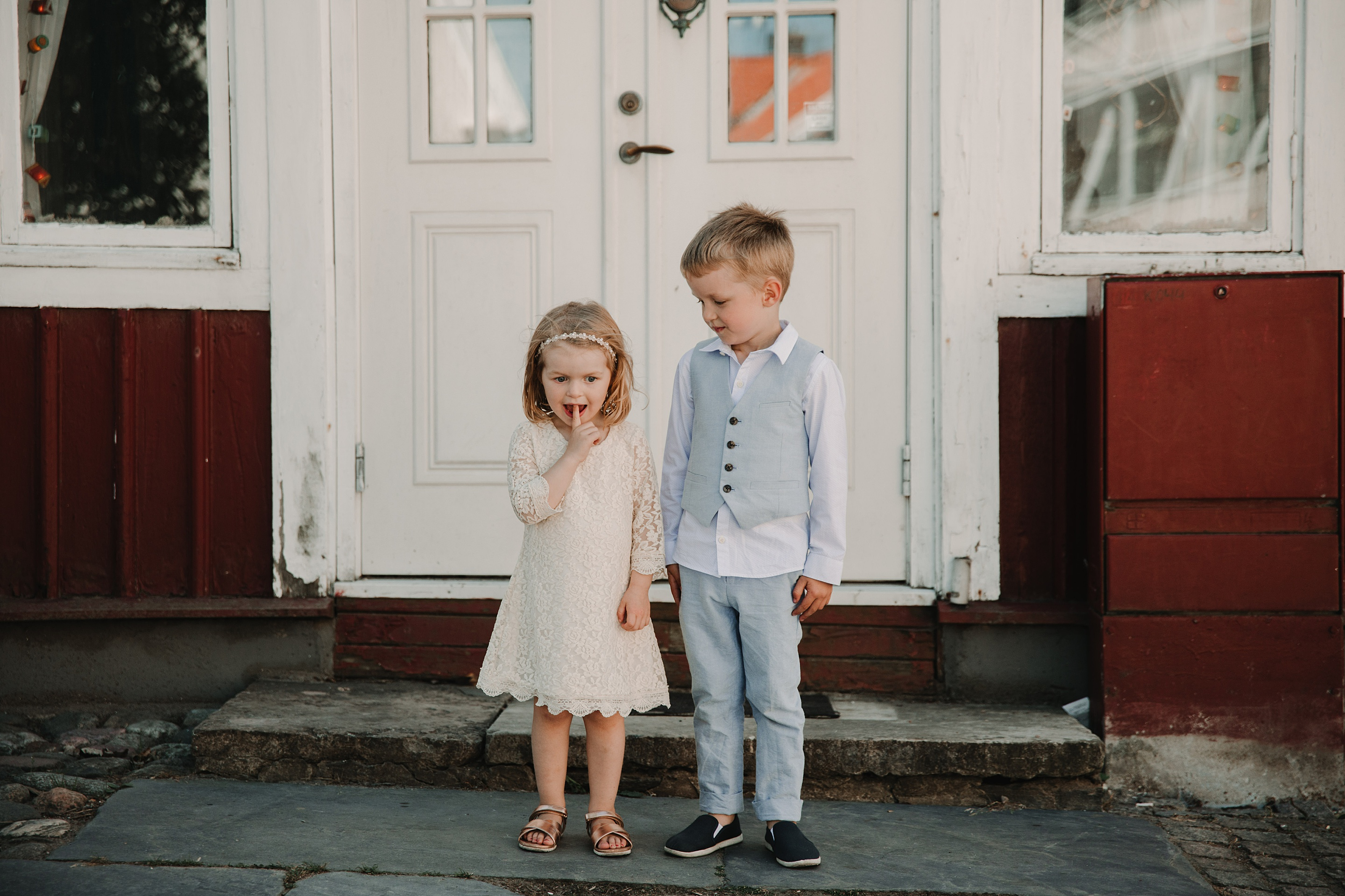 Wedding photographer Sweden Gothenburg ceremony wedding photos